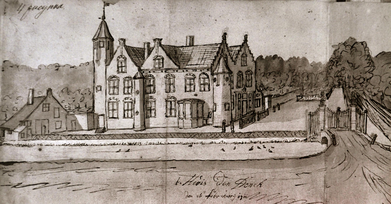 tekening huis