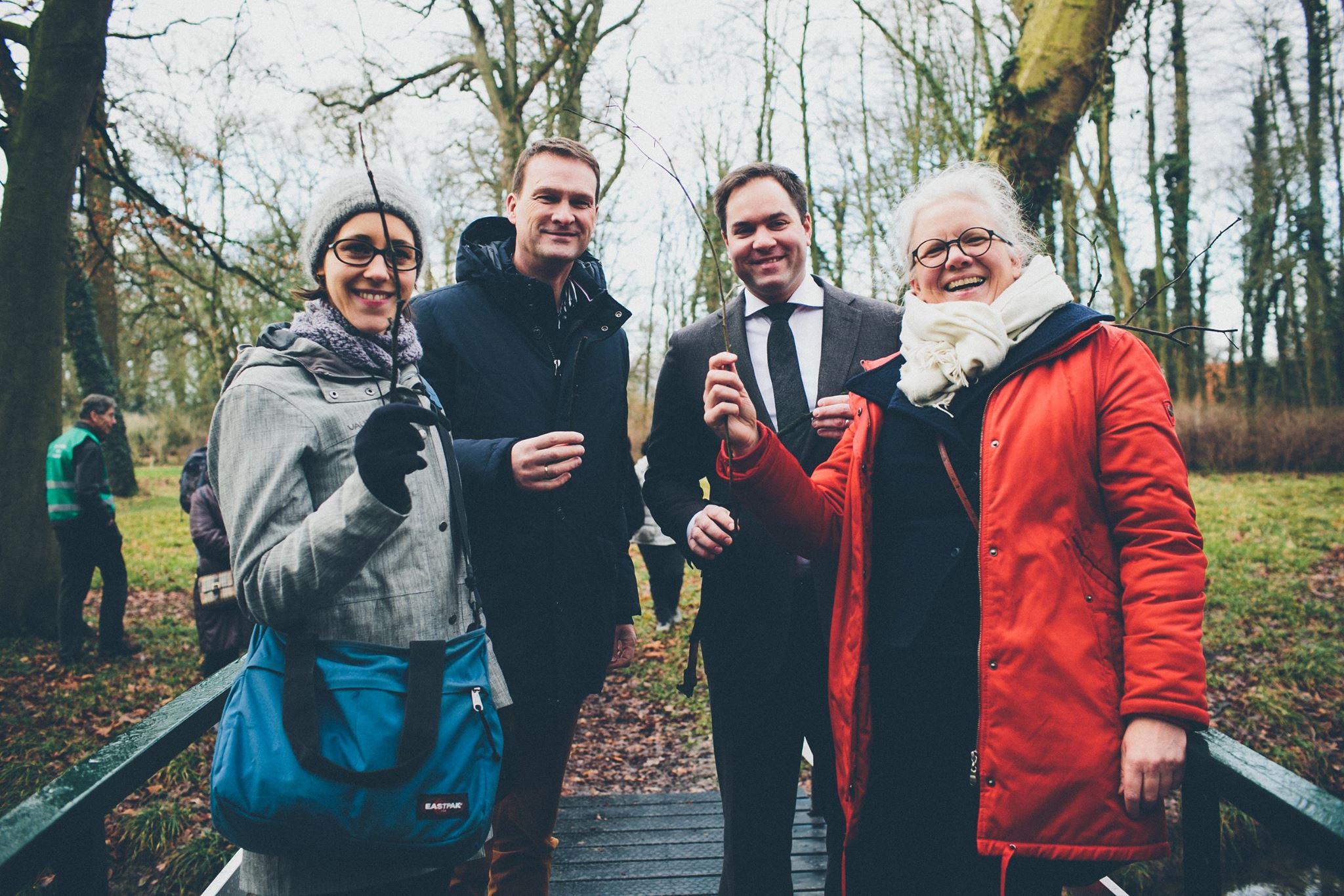 Start Vrijwilligersproject Interieurbehoud met dank aan Rabobank Cooperatiefonds, Cultuurfonds en Van der Valk