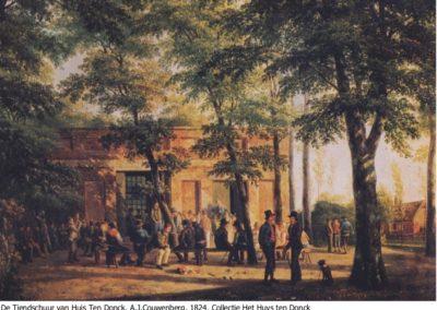Tiendgebouw vroeger collectie htd 1864